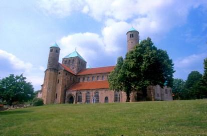 Alemania, Baja Sajonia, Hildesheim, iglesia de San Miguel