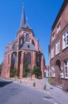 Alemania, Baja Sajonia, Lüneburg, iglesia San Nicola