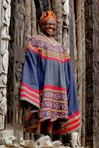 Camerún, Bafut, Fondom, Rey Fon Abunbi II