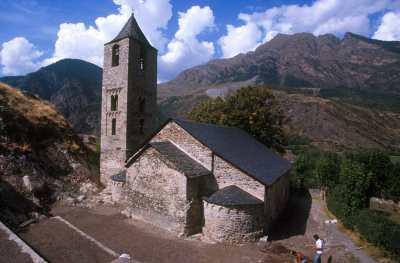 Catalunya, Alta Ribagorça, Vall de Boì, Iglesia Románica Sant Joan