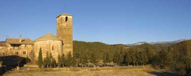 Solsones,Olius,Iglesia Románica Sant Steve