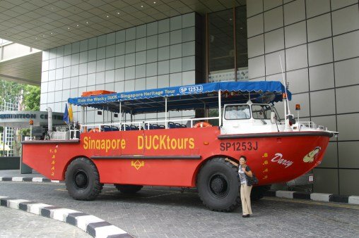 "Singapur, Salida ""Singapore Duck Tours"""