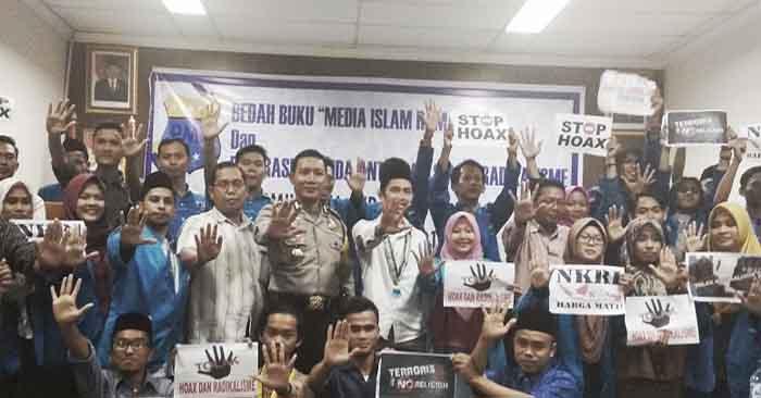 Polres Serang Kota dan PMII Deklarasi Anti-Hoax dan Radikalisme