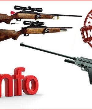 Важна информация за притежателите на пушки за упояване