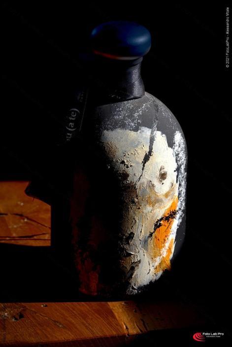 Una bottiglia