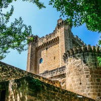 Sajazarra castle. Probably the best preserved castle in La Rioja.