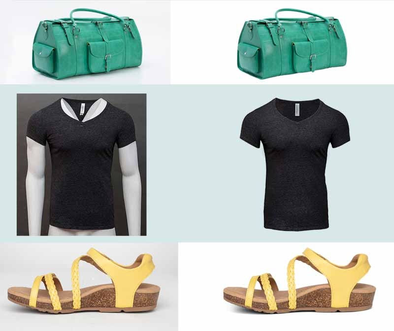 E-commerce Image Cut out samples