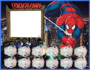 Calendario Infantil 2013 Spiderman