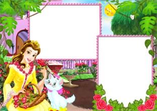 Marcos Disney Princesa Bella.