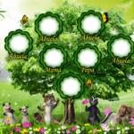 Plantilla Personalizable con Árbol Genealógico.