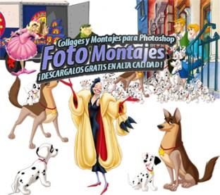 Cliparts y Recursos para Fotomontajes Disney