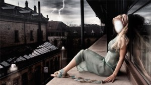 Fotomontajes Chica Oscura