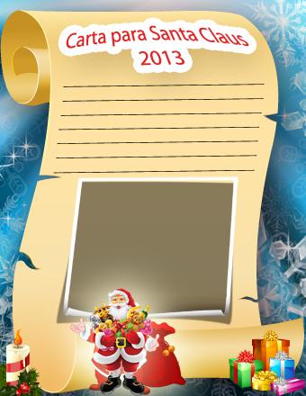 Manualidades Digitales. Carta a Papa Noel 2013.