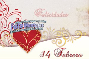 Tarjetas San Valentín 2014