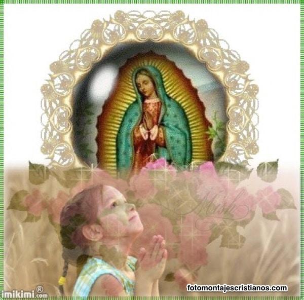 mejores fotomontajes con la virgen de guadalupe