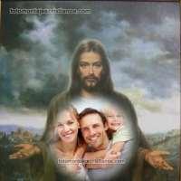 Hacer fotomontajes de Jesús