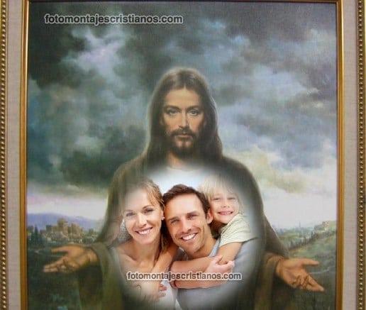 hacer fotomontajes de jesus