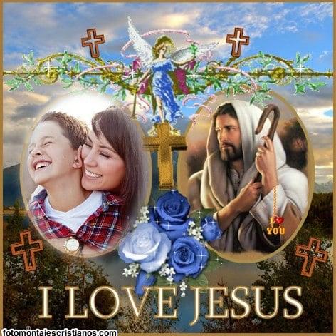 fotomontajes cristianos