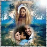 Fotomontaje para poner tu foto junto a Jesús