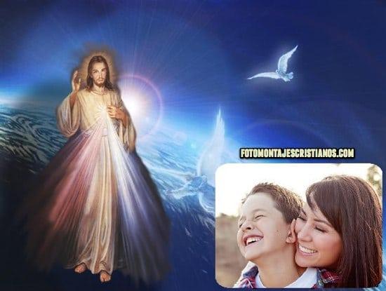fotomontajes del sagrado corazon