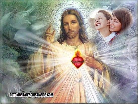 fotomontajes religiosos con jesus
