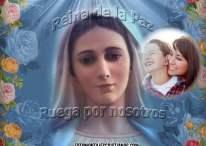 Fotomontajes Cristianos con la Vírgen: Reina de la Paz, ruega por nosotros