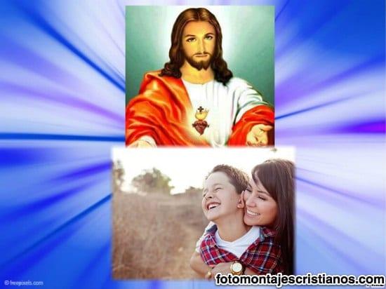 marco cristiano junto a jesucristo