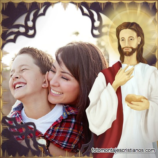 fotomontajes con jesus