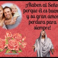 Fotomontaje con Frases bíblicas