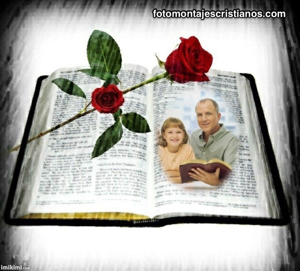 fotomontajes con la biblia