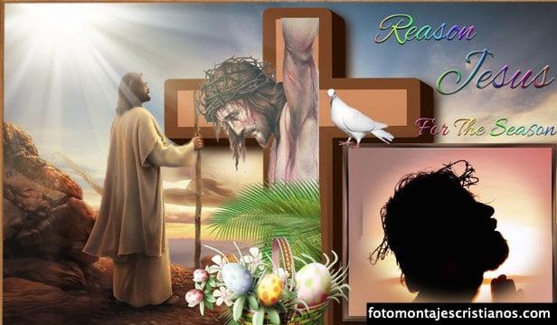 Fotomontajes Pascua crear gratis
