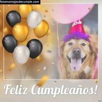 10 Fotomontajes de cumpleaños para escribir texto