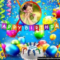 Decorar fotos de feliz cumpleaños con estos bellos fotomontajes