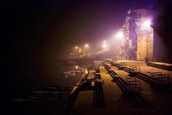 fotografía urbana nocturna