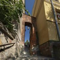 """Sandomierz -""""Ucho igielne"""" w murach obronnych"""
