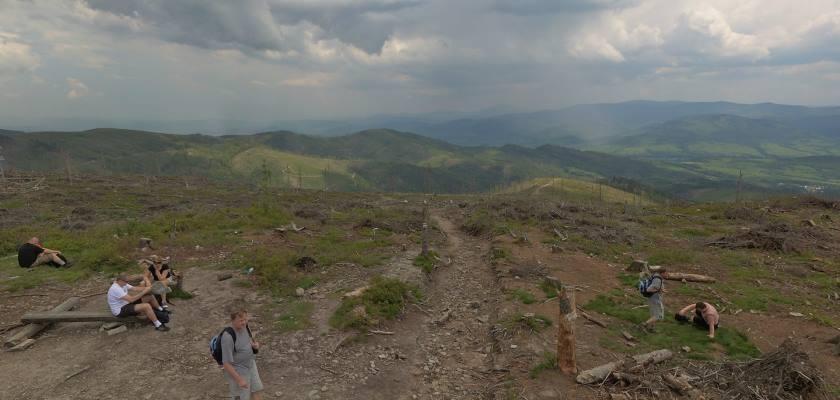 Na szczycie Baraniej Góry