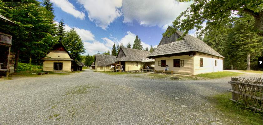 Zuberec - Muzeum Oravskej Dediny