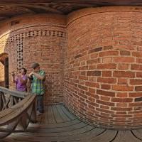 Na zamku w Trokach (Trokai), Litwa