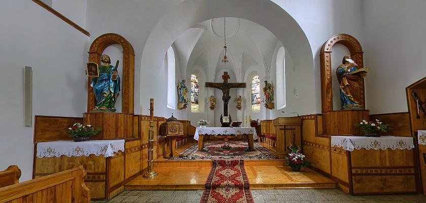 Kościól pw. Św. Piotra i Pawła w Chobieni