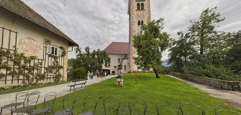 Kościół Maryjny na wyspie w Bledzie (Słowenia)