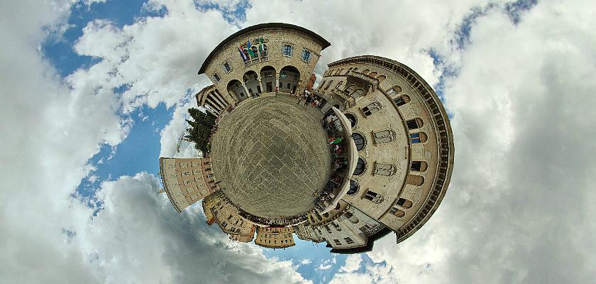 Na Forum w Puli, Chorwacja