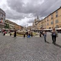 Rzyma/Roma - Piazza Navona, wycieczka wirtualna