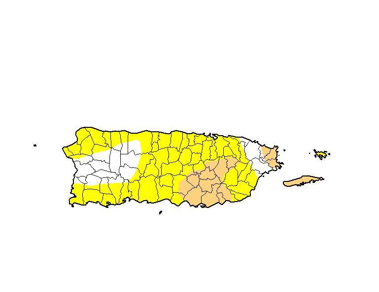 mapa sequia