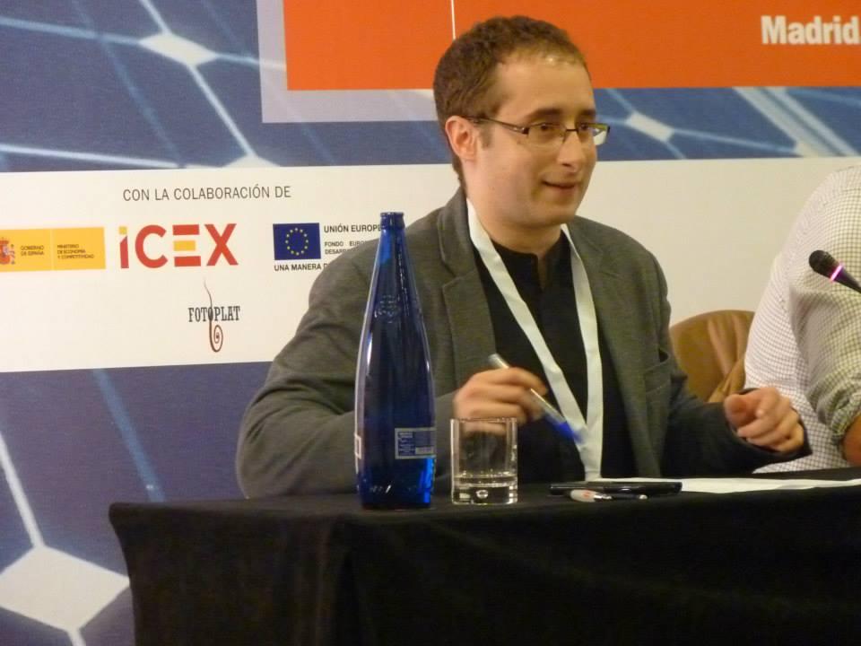 Mesa ¿Cuáles son las propuestas de los partidos para la fotovoltaica? En la foto, Ismael Rastoll, de Ciudadanos