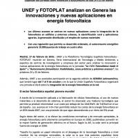 20150217 UNEF Participa en GENERA_DEF