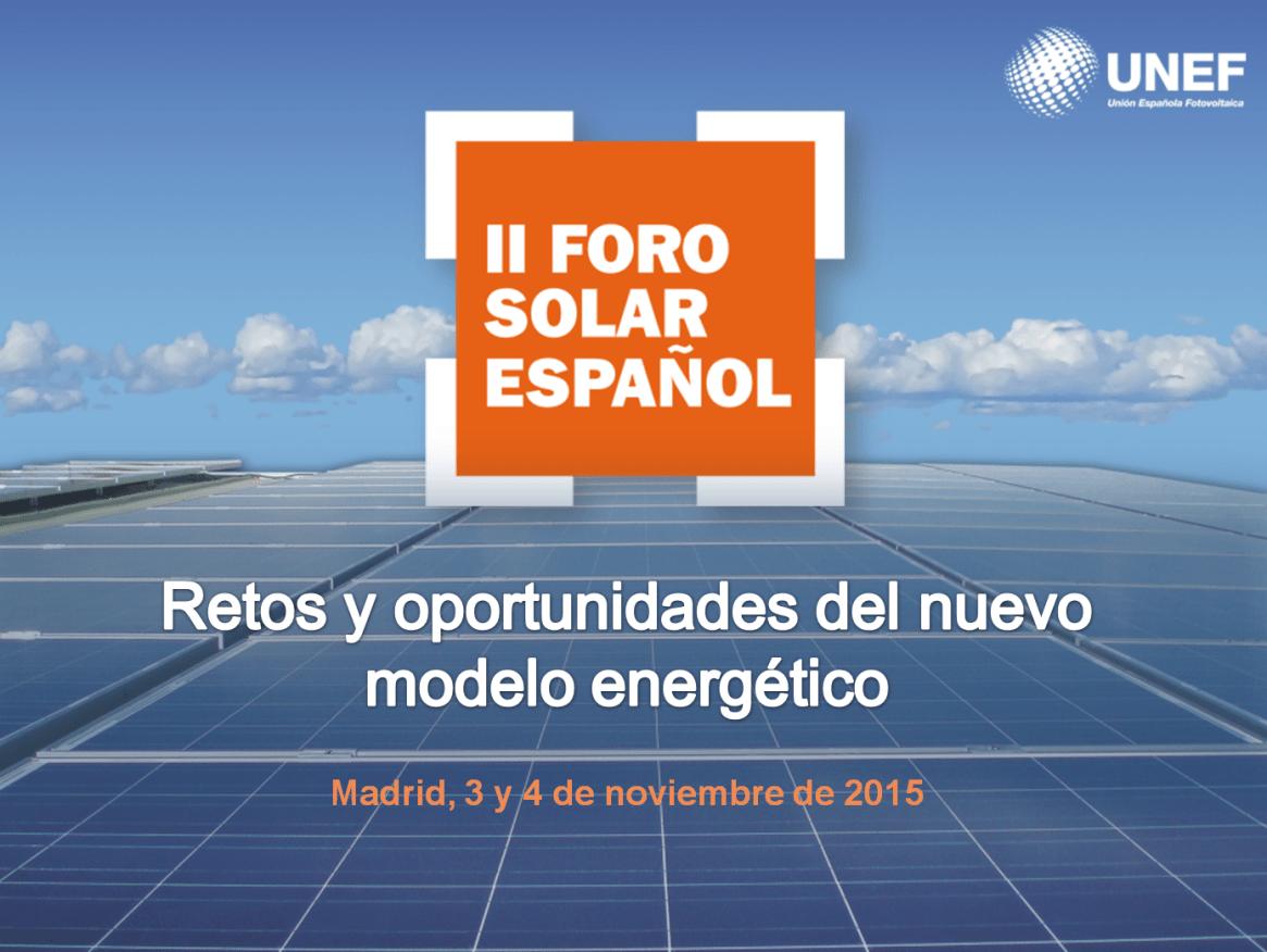 II Foro Solar Español