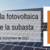 El futuro de la fotovoltaica después de la subasta