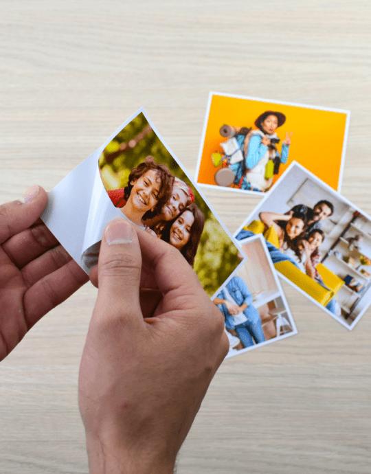 Impresión de Fotos Adhesivas