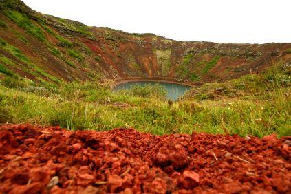 Kerið – jezioro wulkaniczne
