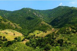 Krajobrazy północno - wschodniej części kraju